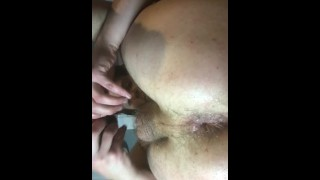 Cue ball amateur insertion, double anal toy. Accepting requests!